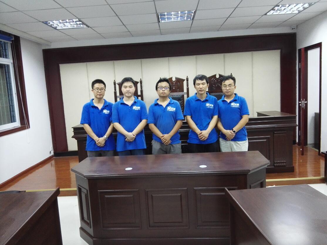 成都成华区法院12博bet官网球网治理施工展示