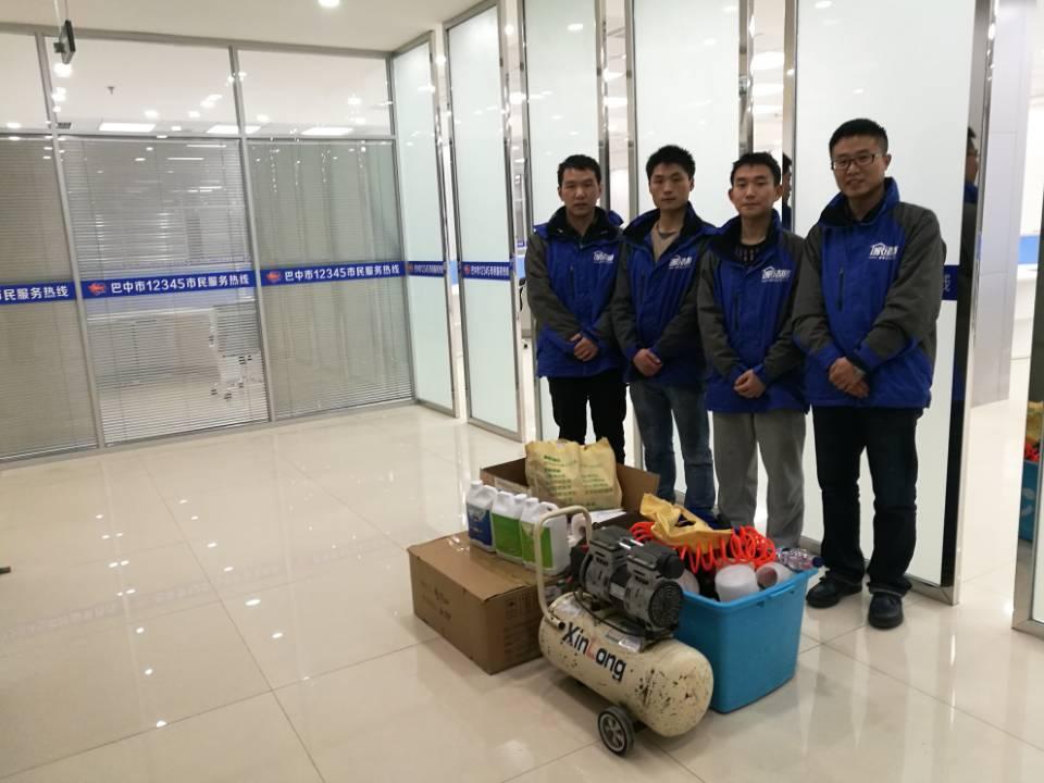 四川巴中12345市民服务热线12博bet官网球网治理施工展示