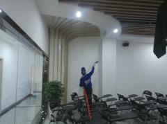成都昂立外语12博bet官网球网治理施工展示